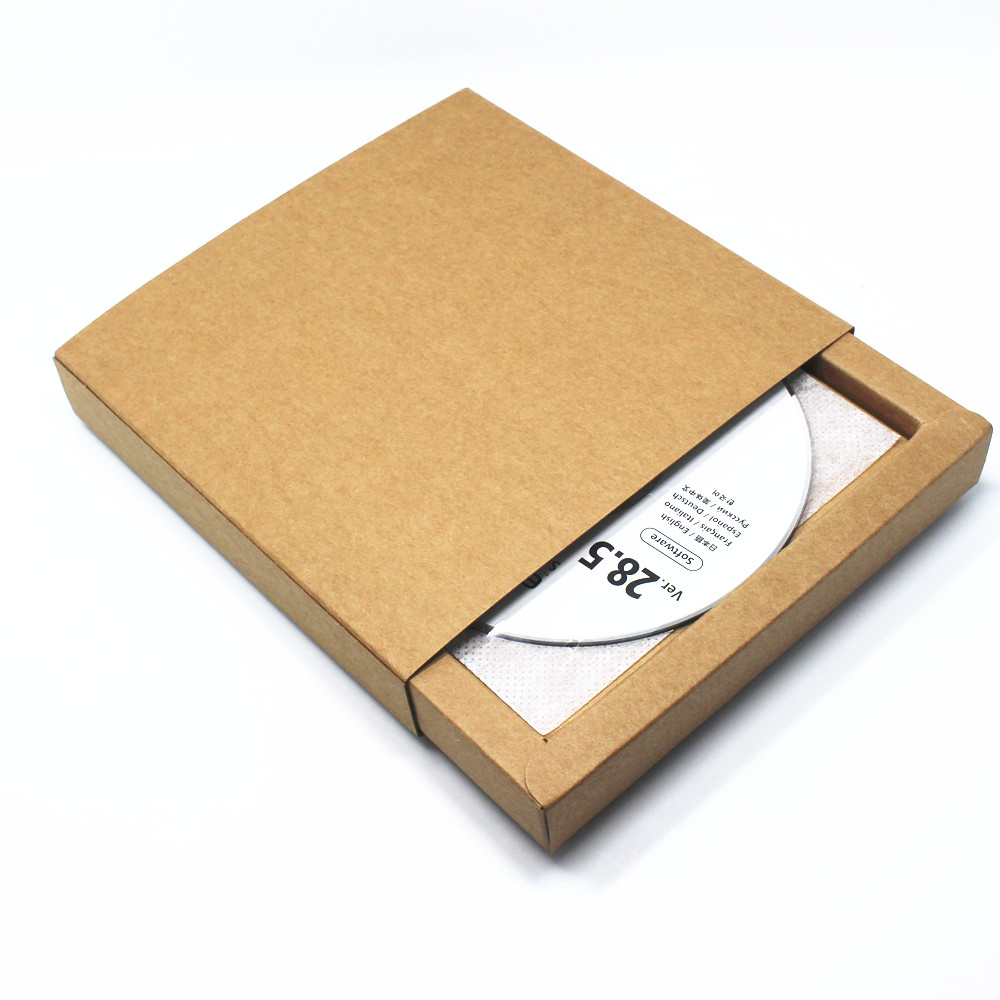 online get cheap paper case for cd com alibaba group brown 15 5 15 5 2 8cm 10pcs lot kraft paper dvd b