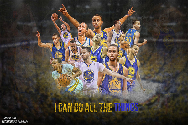 Decorative Craft Steph Curry Posters MVP Warriors Custom Canvas Wallpaper N.B.A Basketball Wall Stickers Home Decor #P1228#