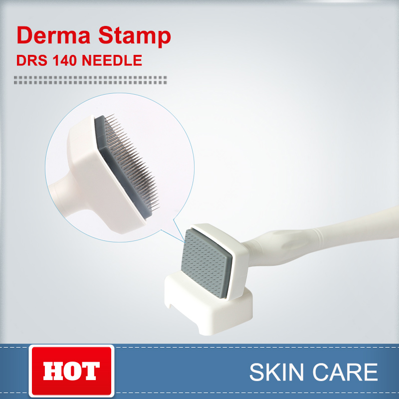 Micro Needling Derma Roller Dermastamp DRS140 Needles For Skin Care And Hair Loss Micro Needle Therapy System