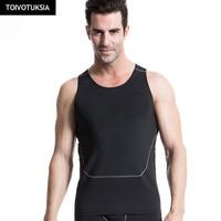 TOIVOTUKSIA Człowiek Szybkie Pranie Kamizelki Mężczyźni Koszule Działa Kompresji Mocno Siłownia Tank Top Fitness Gym Running Sport Vest