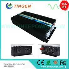 Great price&Fast delivery to Asia and EU countries DC 12v/24v/48v to AC 220v 230v 120v 50Hz 60Hz pure sine wave 2500w inverter