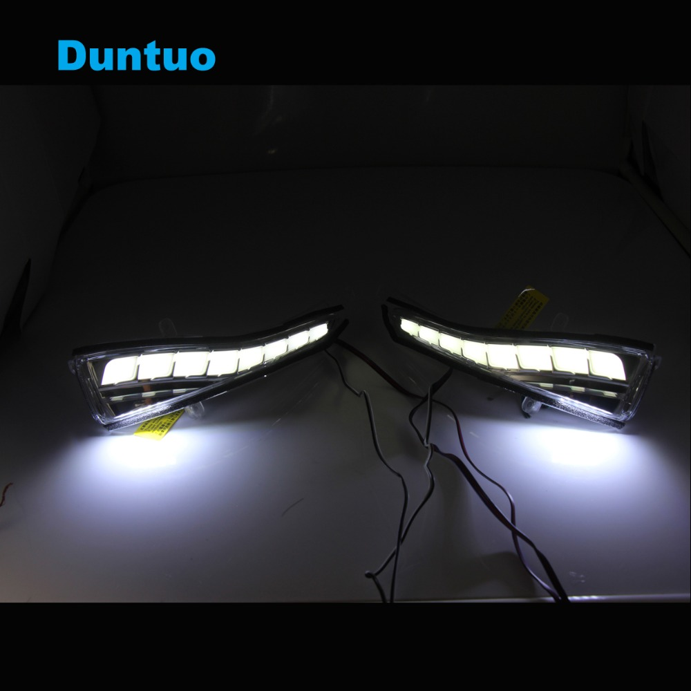 Rearview Mirror Light Turn Signal Lamp LED Sequential Flowing Running Lights For Infiniti Q30 Q50 Q50S