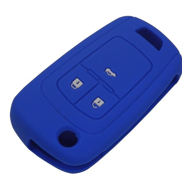 jingyuqin Skin Silicone Key Cover Case for Chevrolet Cruze fit Buick Opel VAUXHALL Astra Corsa Antara Meriva Insignia fob
