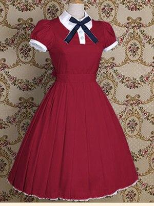 Classique OP Lolita robes Vintage femmes robe Lolita fête vêtements Costumes - 3
