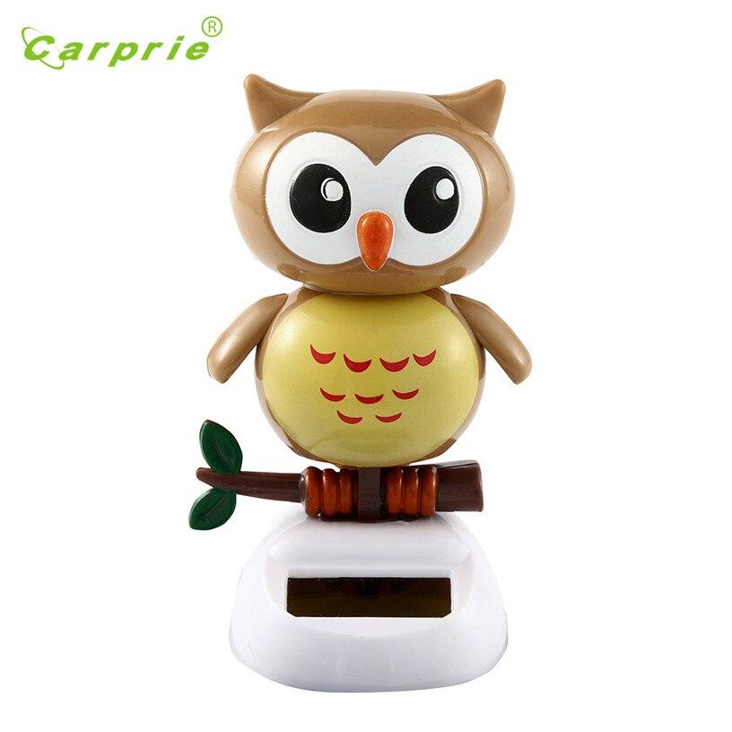 Dropship Hot Selling Cute owl Solar Powered Dancing Animal Swinging Animated Bobble Dancer Toy Car Decor New Gift Jul 31