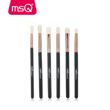 MSQ Makeup Brushes Set 6/8pcs Synthetics Hair Rose Gold Ferrule Make Up Brushes for Eyeshadow