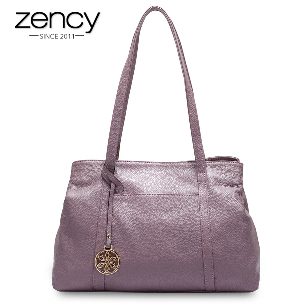 Zency 100% Natural Cow Leather Fashion Women Shoulder Bag Super Quality Charm Messenger Lady Casual Tote bolso hombro las mujere танцевальный инвентарь dance charm 100