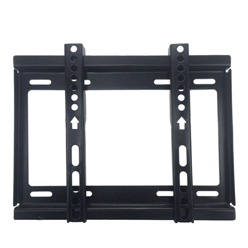 10.43 x 8.66inches TV Bracket Max Load-bearing 55.12lb Home Office Entertainment Places TV Rack Wall Mount for 14-42inches LCD LED Plasma TVs Flat Panel Display Screen TV Black - intl