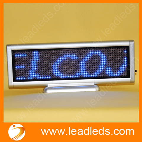 Blue LED Sign Programmable Message Sign Moving Scrolling LED Display Board