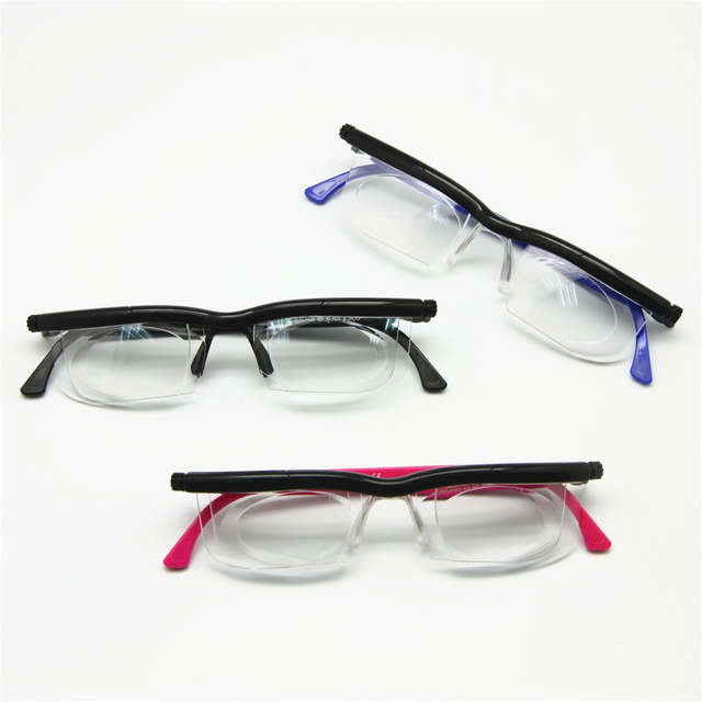 e80354a1c8ad Adlens Focus Adjustable Reading Glasses Myopia Eyeglasses -6D to +5D  Diopters Magnifying Variable Strength