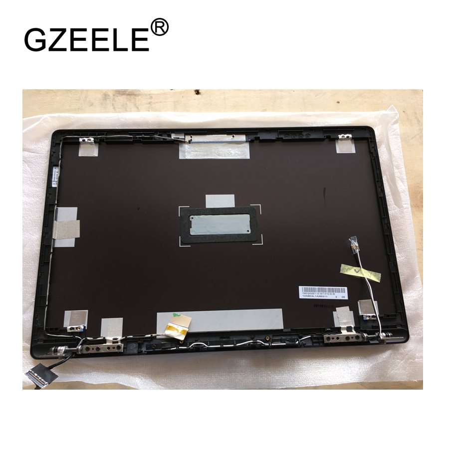 GZEELE New laptop LCD Top Cover For Asus N550 N550JV N550LF N550JK-1A LCD BACK COVER NO-TOUCH PN : 13NB04L1AM0311 13N0-QXA0911 new for asus gl502 gl502vm gl502vs gl502vy gl502vt gl502vs ds71 gl502vm ds74 lcd back cover top case a shell black silver