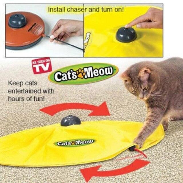 4 velocità di Gatto Giocattolo Del Mouse Sotto Copertura In Tessuto's del Gatto