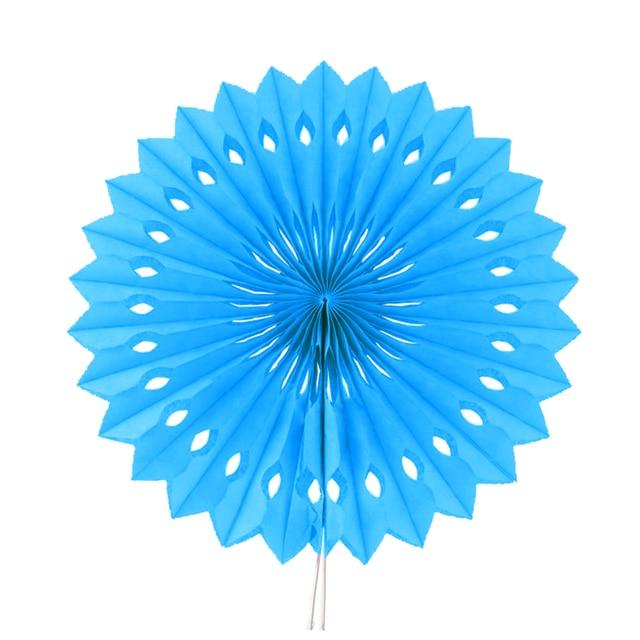 3pcs 1640cmsky blue paper folding fan for wedding decoration 3pcs 1640cmsky blue paper folding fan for wedding decoration store decoration junglespirit Gallery