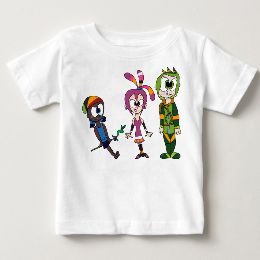 2018 Summer qumiqumi children T Shirt baby Tshirt Costume infant Lovely boy and girl Favourite Russian cartoon T-shirt MJ