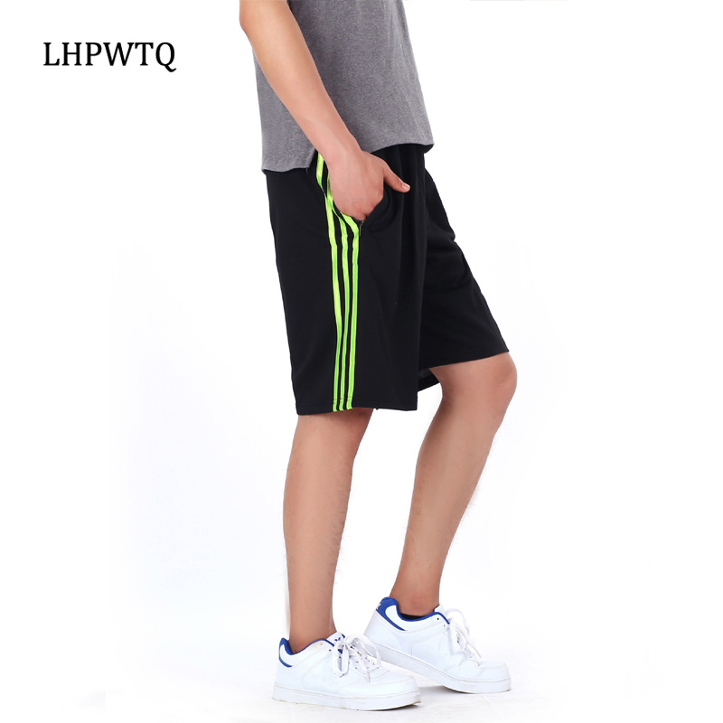 Men's Clothing Dependable 2019 New Mans Sweatpants Shorts Fashion Shorts Sweatpants Haren Pocket Training Striped Fitness Short Jogger 2xl-7xl Size Exquisite Craftsmanship;