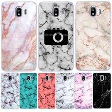 Luxury Marble Letter For Samsung Galaxy J3 J4 J5 J6 J7 J8 Plus 2016 2017 2018 J2 Prime phone Case Cover Coque Etui capinha funda