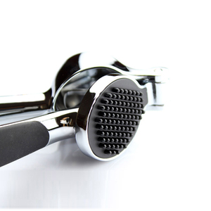 Image 5 - Edelstahl 304# schnell hand squeeze knoblauch ingwer pressen brecher Manuelle küche werkzeug Knoblauch peeling gerät freies verschiffen