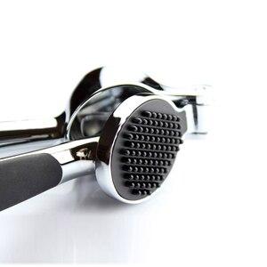 Image 5 - Paslanmaz çelik 304 # hızlı el squeeze sarımsak zencefil presler kırıcı manuel mutfak aracı sarımsak soyma cihazı ücretsiz kargo