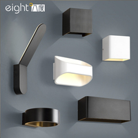 Modern LED Nordic Wall lights for living room fixtures bedroom waterproof outdoor Wall Lamps stairs wall sconce aisle lighting