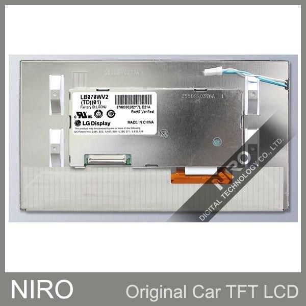 Автомобильный TFT ЖК-дисплей мониторы по LB070WV2(TD)(01) ЖК-дисплей Дисплей для нового Buick Regal 7