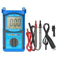 Auto range LCD Digital Insulation Resistance Tester Megohm Meter Megger Megohmmeter DC100V/250V/500V/1000V Voltmeter