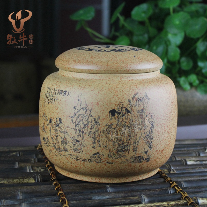 Yixing Yixing teapot tea manufacturers selling authentic tea all over the mud ore section of Baxian mixed batch yixing zisha tea caddy authentic fine workmanship high grade tea pot square box mixed batch