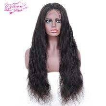 Queen любовь волнистые волосы, для придания объема 13x4 кружева передние человеческие волосы парики натуральный Цвет перуанские прямые волосы Кружева передние парики с детскими волосами