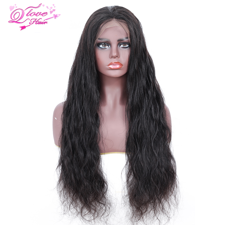 Queen Love Hair Body Wave 13x4 Lace Frontal Human Hair Wigs Natural Color Peruvian Remy Hair Lace Frontal Wigs With Baby Hair