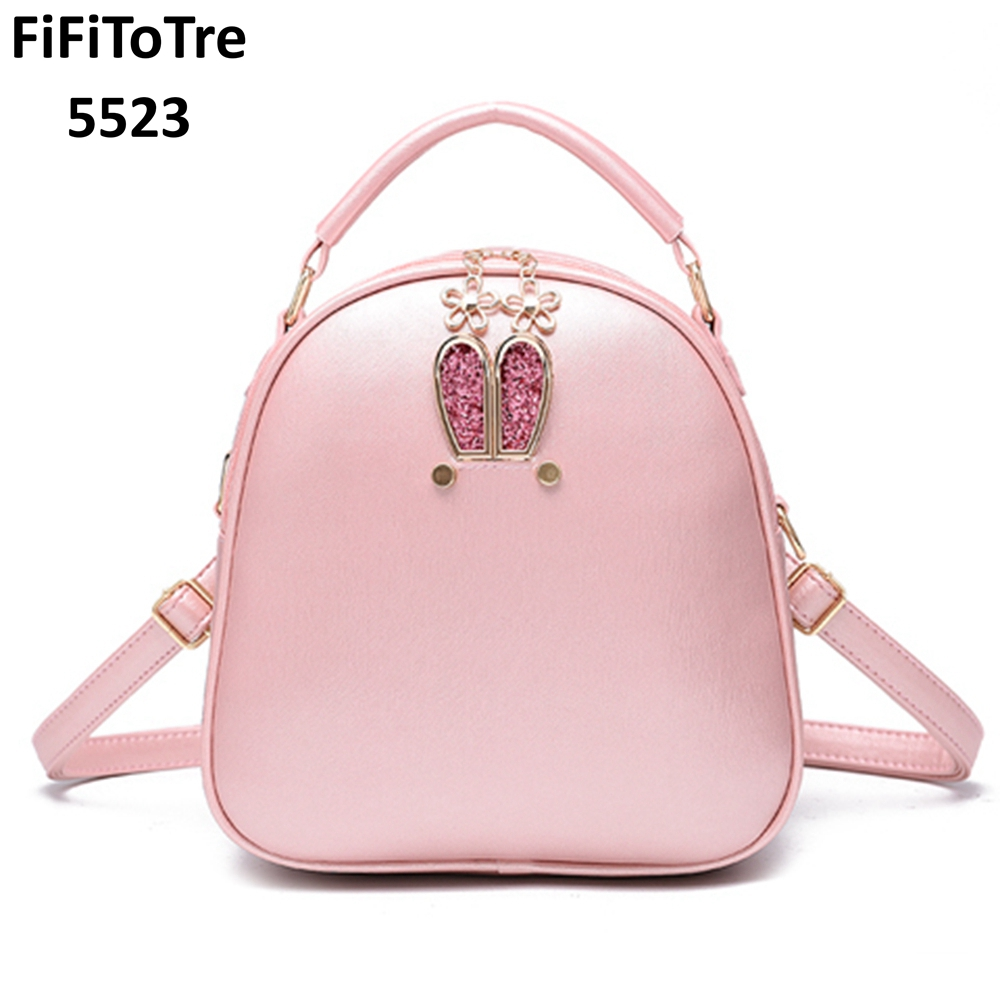 Fashion Women Backpack For Girls 2018 New Black Backpacks -1468