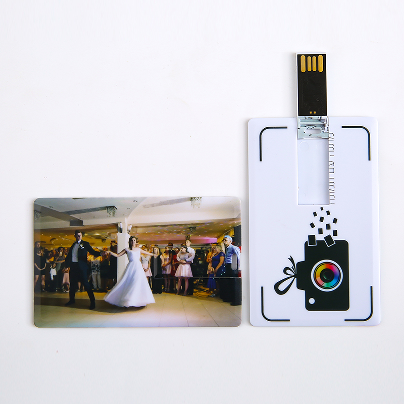 10 Pcs/ Lot Custom Company Logo Bank Card Shaped Print Photo Usb 2.0 Sticks Custom Logo 4-32GB Usb Flash Pen Drive Disk As Gifts