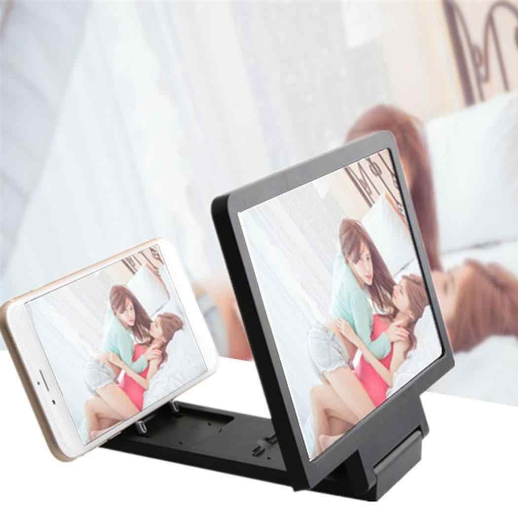Новый мобильный телефон экран 3D видео лупа кронштейн усилитель складное