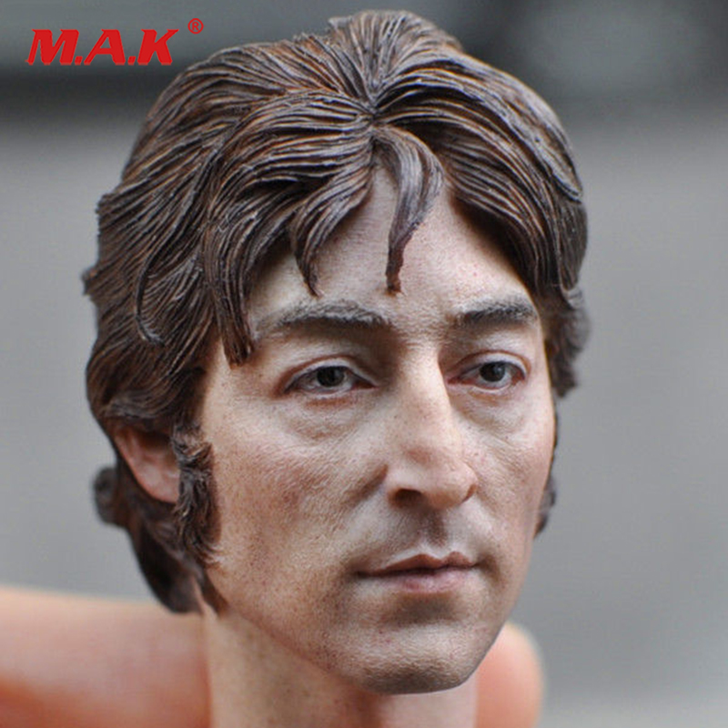 1 6 scale Europe man head scuplt custom old boy head carving for12 inches action figure body without neck accessory in Action Toy Figures from Toys Hobbies
