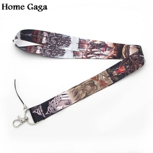 Homegaga Newest Personality Viking lanyards for keys in Mobile Phone neck straps id badge holders webbing D0313
