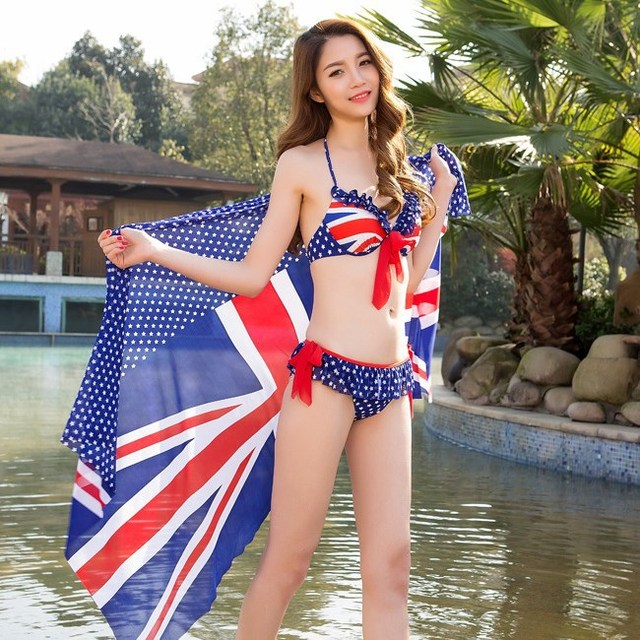 Conservative women bikini