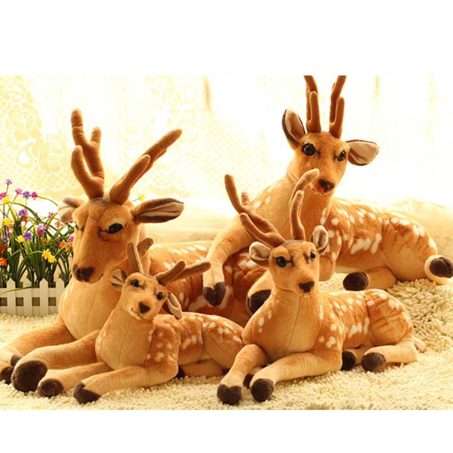 купить Simulation Animal Dolls Cute Plush Toys Stuffed Graduation Gift Oyuncak Bebek Big Soft Toy Decoration Mariage Kids Toys 70G0359 по цене 1316.04 рублей