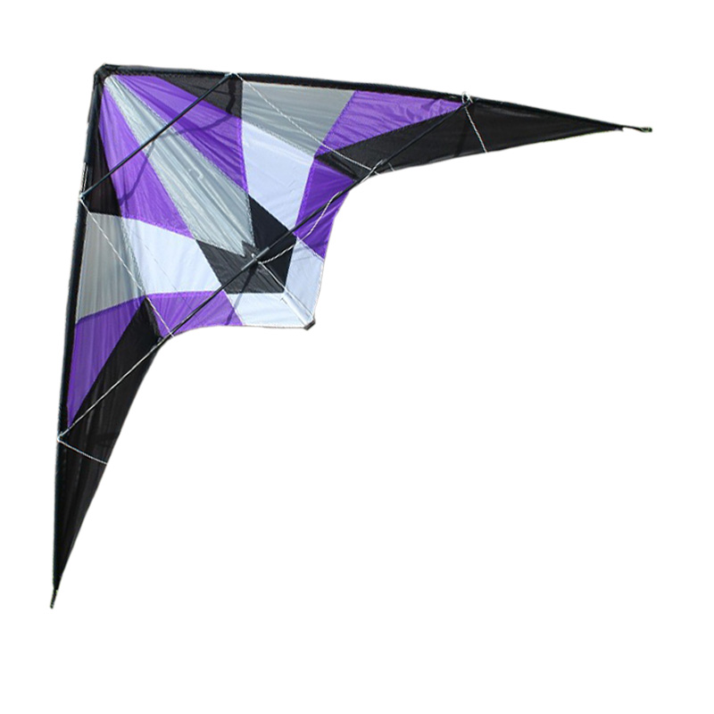 Professional Kite utdoor Fun Sports Storm 1.8 m Delta Dual Line Stunt Kite / Power Kites Good Flying With Handle And Line