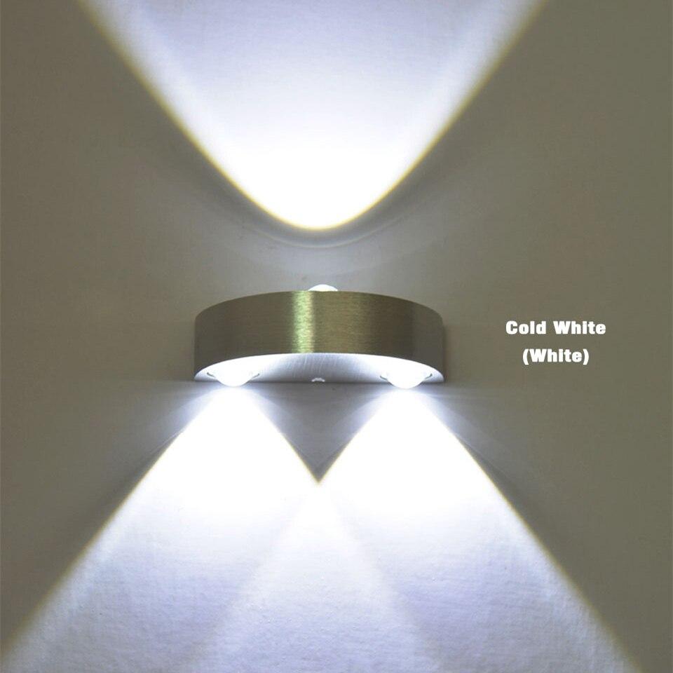 3w Led Indoor Wall Lamp Brand New Ac110v 220v Bedroom