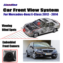 Liandlee Car Front View Camera For Mercedes Benz E-Class 2012 2013 2014 / 4.3 LCD Screen Monitor Cigarette Lighter Switch