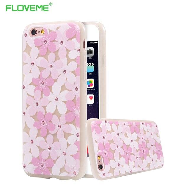 Etui iPhone fluorescencyjne kwiatki różne wzory  6/6S
