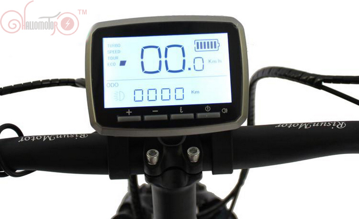 Electric Bicycle 36V 48V VLCD5 Display for Ebike <font><b>TONGSHENG</b></font> Brushless <font><b>Geared</b></font> Torque Sensor Mid-Drive Motor USB Charging Port image