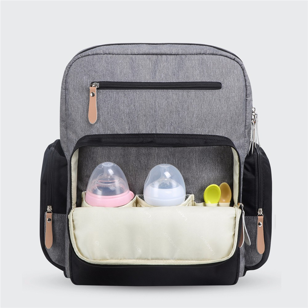 LAND Mummy Bag Mother Bag Large Capacity Twins Baby Bags Nursing Bag Waterproof Outdoor Bag Maternity Backpack for Mom Mommy Bag