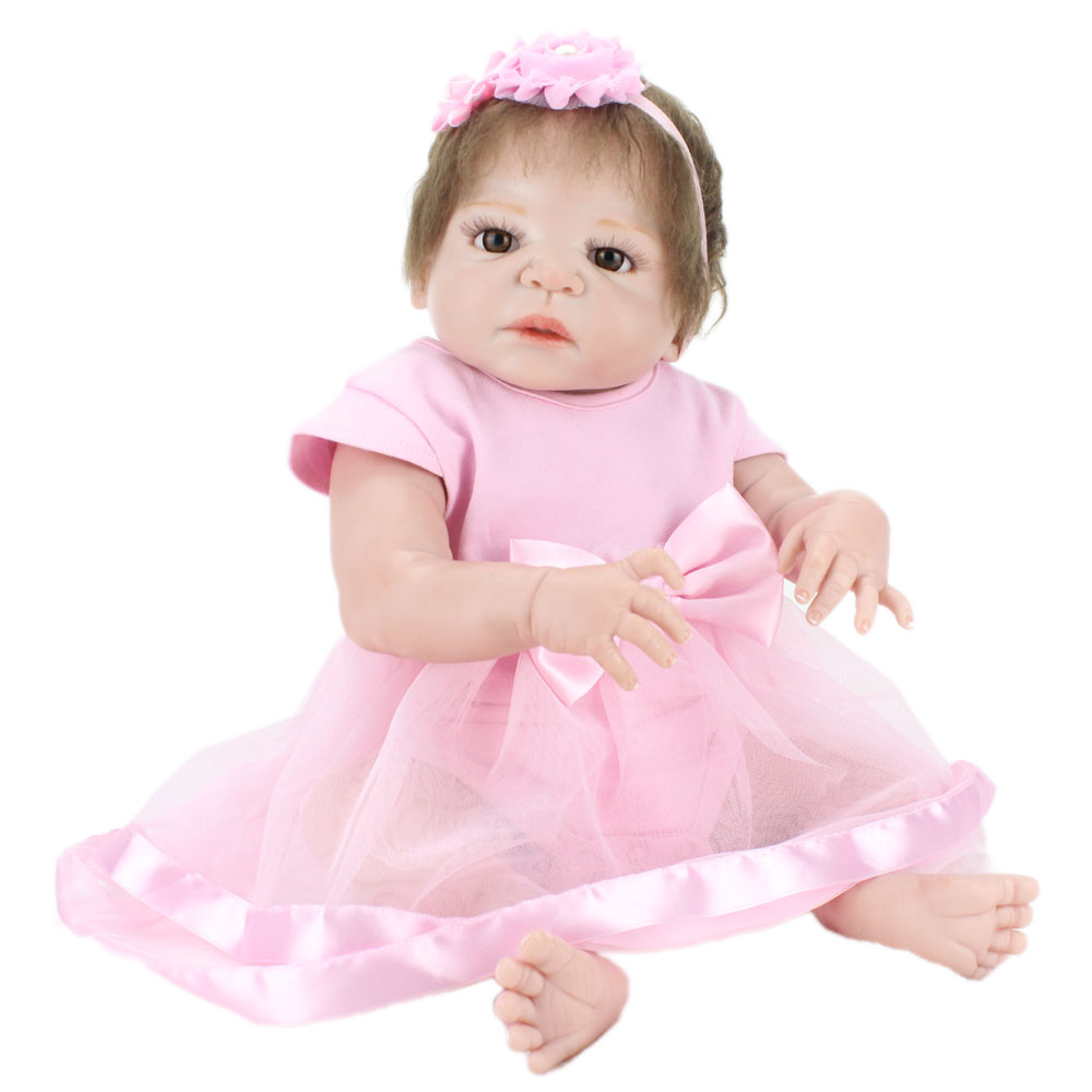 57cm Full body soft Silicone babies sale Princess vinyl Newborn princess Children Birthday Gift Girl Play House Bathe girl Toys57cm Full body soft Silicone babies sale Princess vinyl Newborn princess Children Birthday Gift Girl Play House Bathe girl Toys