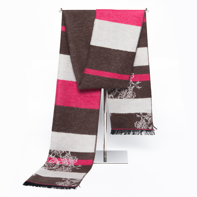 Мода Люксовый Бренд Шелк Кашемир Шарф мужчины могут кисточкой Британские зимние шарфы сшивание зима теплая шарфы пашмины шаль