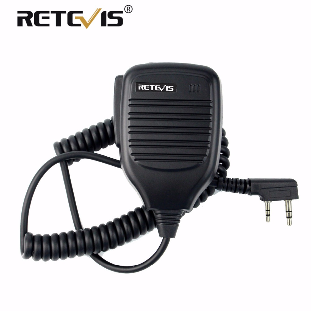 Handheld Lautsprecher Mikrofon PTT MIC Zubehör Für Kenwood Für Baofeng UV-5R 888 s Walkie Talkie Retevis H777 RT5R RT5 RT22 RT21