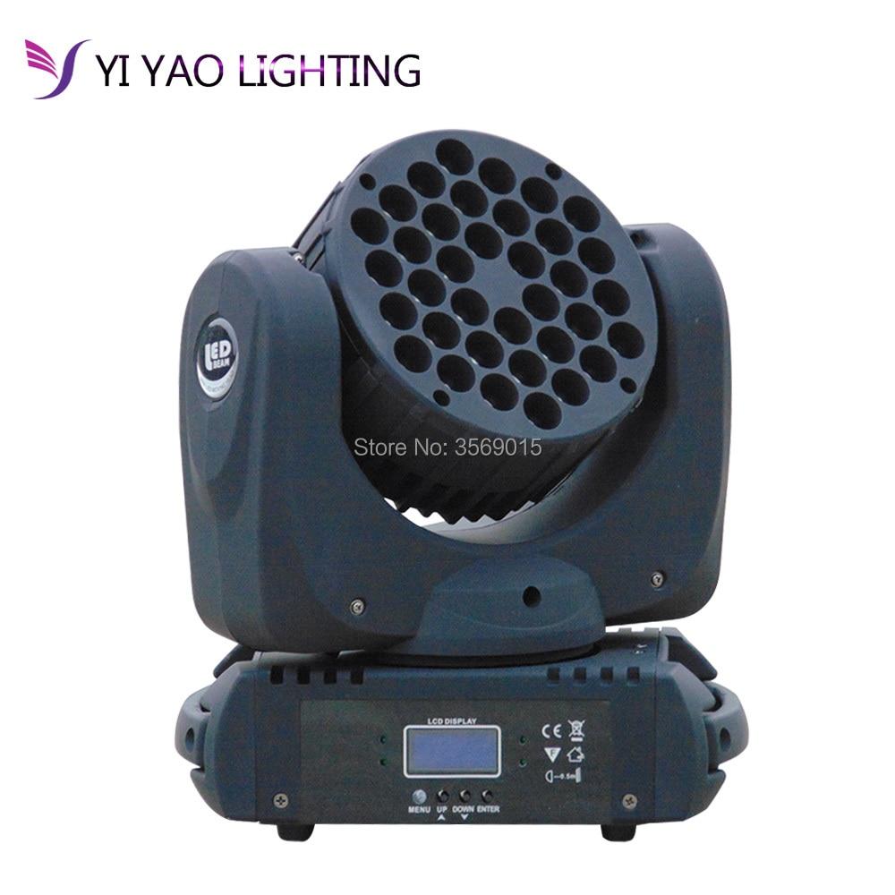 36x3w RGBW LED Beam Wash Lamp Moving Head Light DJ Show Stage Lighting36x3w RGBW LED Beam Wash Lamp Moving Head Light DJ Show Stage Lighting