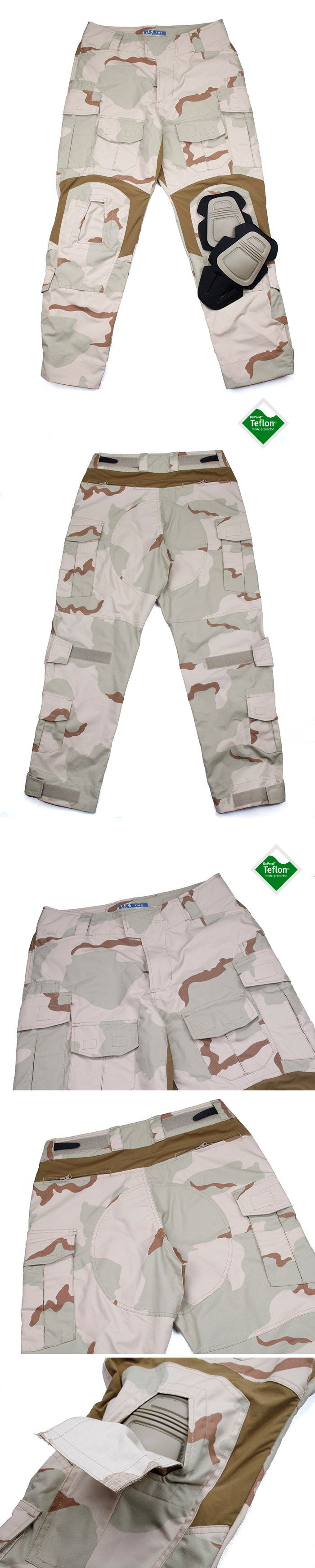 Jeu de Plein air TMC G3/Combat 3D Pantalon DCU