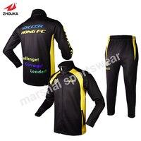 Спортивная куртка высокого качества куртки по заказу полный sulimation принт для команд спортивный костюм куртки Высокое Качество Персонализир