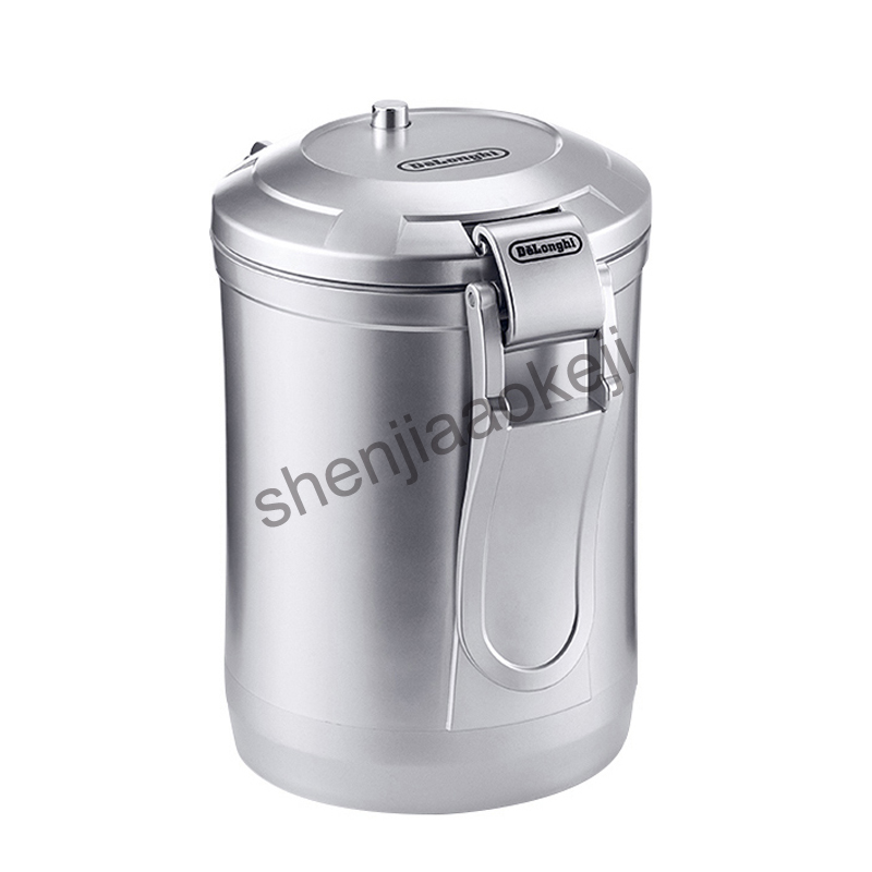 цена на One-touch vacuum coffee beans powder storage tank sealed tank removable storage tank 1.6L 1pc