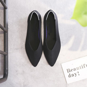 Image 3 - GENSHUO Shoes Woman Flat Heels Zapatos de Mujer Women Ballet Flats Shoes Slip On Pointed Toe Ladies Casual Shoes  Soft Loafers