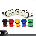 American Style Button with Micro Switch,Game Machine Push Button Switch with 6 different colors